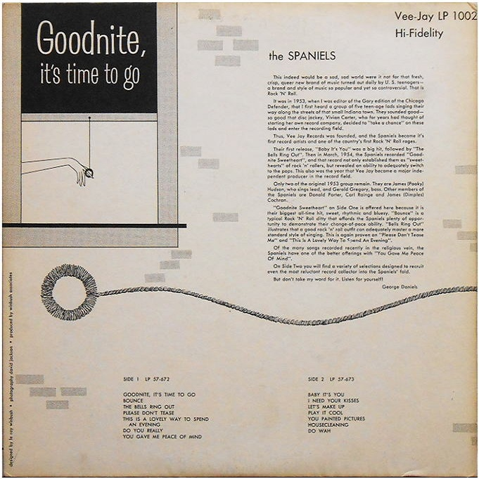 LP-1002 - Goodnite, It's Time To Go Back Cover