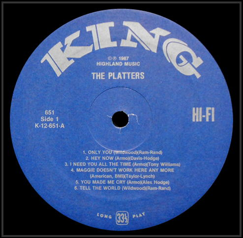 651 - The Platters