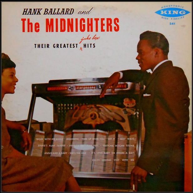 541 - The Midnighters Their Greatest Juke Box Hits
