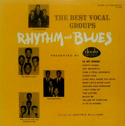 DTL-204 - The Best Vocal Groups Rhythm And Blues