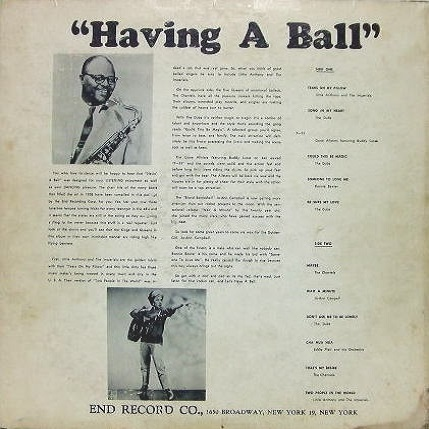 LP-302 - Having A Ball Back Cover