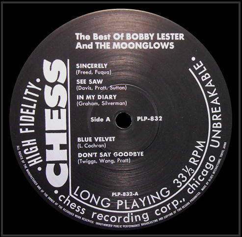 LP-1471 - The Best Of Bobby Lester And The Moonglows