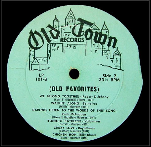 LP-101 - Your Old Favorites On The Old Town Side 2