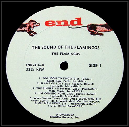 LP-316 - The Sound Of The Flamingos