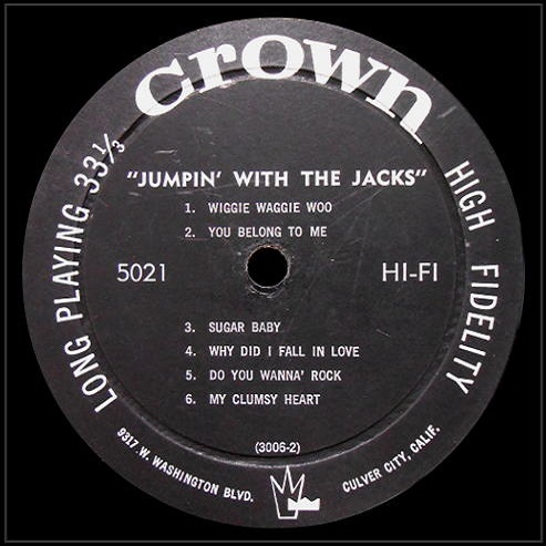 CLP-5021 - Jumpin' With The Jacks Side 2