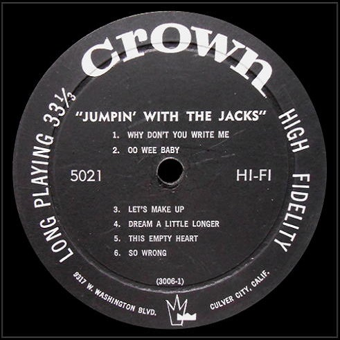 CLP-5021 - Jumpin' With The Jacks Side 1