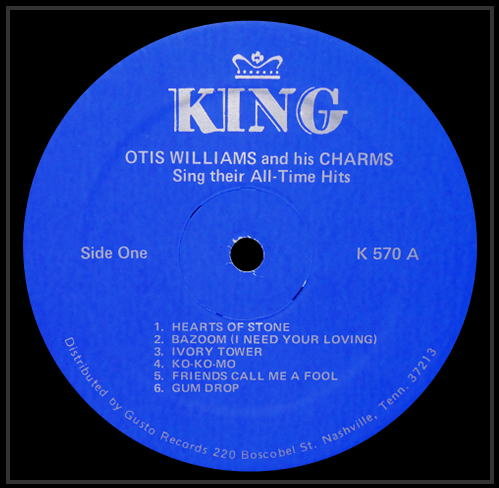 570 - Otis Williams And His Charms Sing Their All-Time Hits