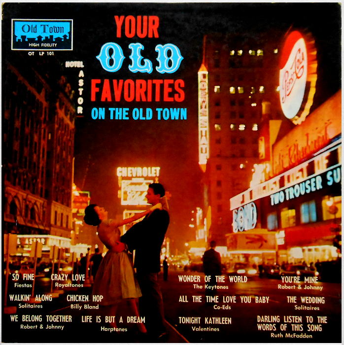 LP-101 - Your Old Favorites On The Old Town