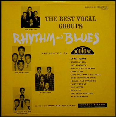 DL-204 - The Best Vocal Groups Rhythm And Blues <Bootleg>