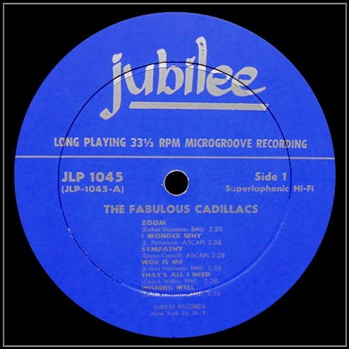 JLP-1045 - The Fabulous Cadillacs Side 1