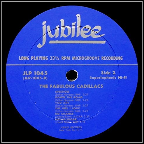 JLP-1045 - The Fabulous Cadillacs Side 2