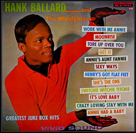 541 - Hank Ballard And The Midnighters Their Greatest Juke Box Hits