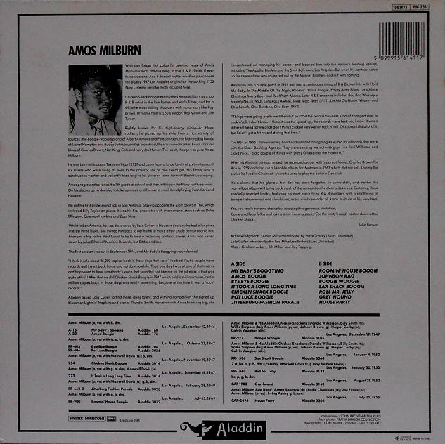 Aladdin 1561411 - Chicken Shack Boogie Back Cover