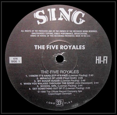 678 - The Five Royales