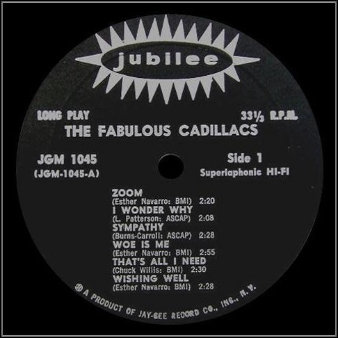 JGM-1045 - The Fabulous Cadillacs Side 1