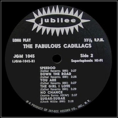 JGM-1045 - The Fabulous Cadillacs Side 2