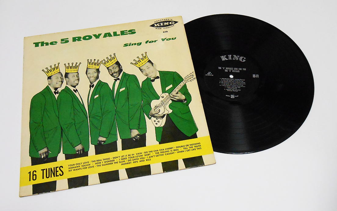 King 616 - The 5 Royales Sing For You