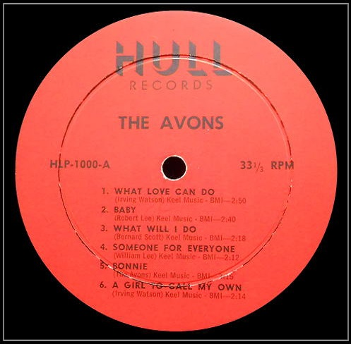 HLP-1000 - Hull Records Invite You To Meet The Avons Side A