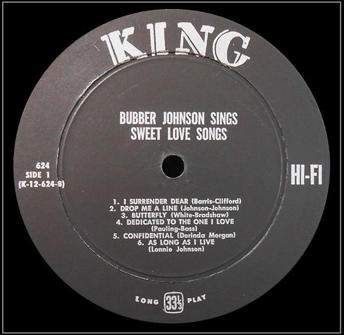 King 624 - Sweet Love Songs Side 1