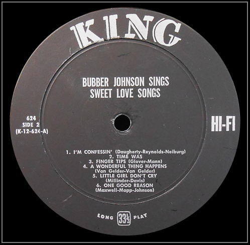 King 624 - Sweet Love Songs Side 2