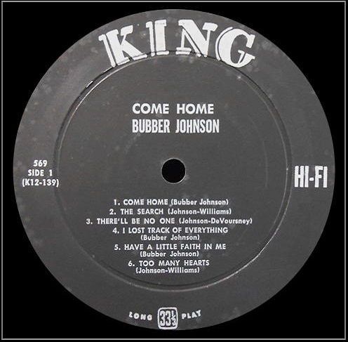 King 569 - Come Home Side 1