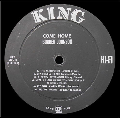 King 569 - Come Home Side 2