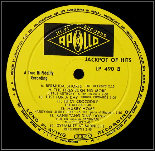LP-490 - Jackpot Of Hits Side B
